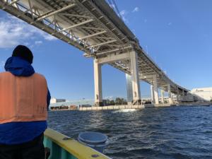横浜釣り船でアジ釣り